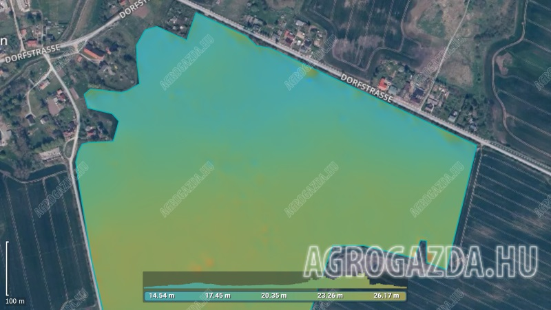 Pix4Dfields_digital_surface_model Get more details about irrigation variability and pinpoint erosion-prone areas.jpg